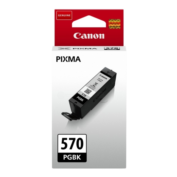 Canon Original  PGI-570PGBK Black Ink Cartridge (0372C001)