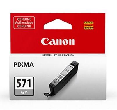 Canon Original CLI-571GY Grey Ink Cartridge (0389C001)