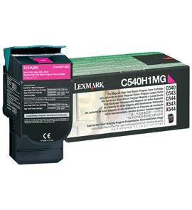 Original Lexmark 0C540H1MG Magenta Toner Cartridge