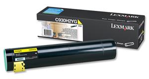 Original Lexmark 0C930H2YG Yellow Toner Cartridge