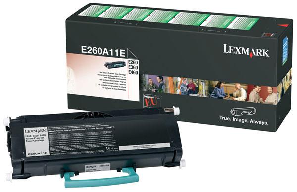 Original Lexmark 0E260A11E Black Toner Cartridge