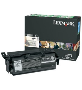 Original Lexmark 0T650H11E Black Toner Cartridge