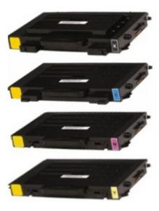 Compatible Xerox 106R0068 Set Of 4 Toner Cartridges (Black,Cyan,Magenta,Yellow)