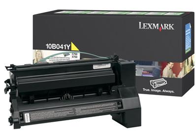 Original Lexmark 10B041Y Yellow Toner Cartridge