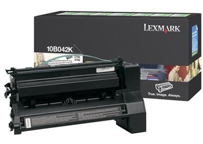 Original Lexmark 10B042K Black Toner Cartridge