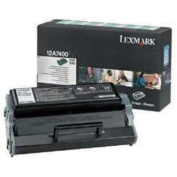 Original Lexmark 12A7400 Black Toner Cartridge
