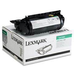 Lexmark 12A7460 Black Compatible Toner Cartridge