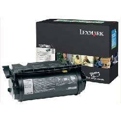Original Lexmark 12A7462 Black Toner Cartridge
