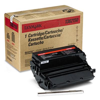 Original Lexmark 1382150 Black Toner Cartridge