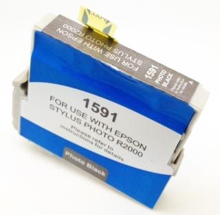 Epson Compatible T1591 Photo Black Ink Cartridge