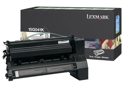 Original Lexmark 15G041K Black Toner Cartridge