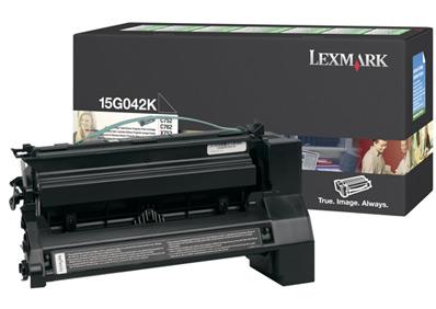 Original Lexmark 15G042K Black Toner Cartridge