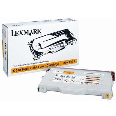 Original Lexmark 20K1402 Yellow Toner Cartridge