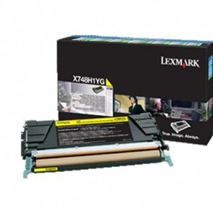 Original Lexmark 24B5703 Yellow Toner Cartridge