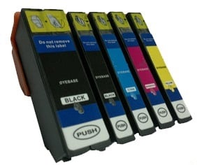Compatible Epson 33XL High Capacity Ink Cartridges Full Set of 5  - (Black, Photo Black, Cyan, Magenta, Yellow)