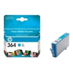 HP 364 (CB318EE) Cyan Standard Capacity Original Ink Cartridge
