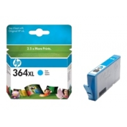 HP 364XL (CB323EE) Cyan High Capacity Original Ink Cartridge