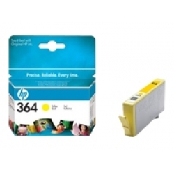 HP 364 (CB320EE) Yellow Standard Capacity Original Ink Cartridge