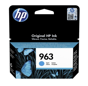 Original HP 963 Cyan Inkjet Cartridge (3JA23AE)