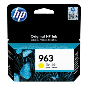 Original HP 963 Yellow Inkjet Cartridge (3JA25AE)
