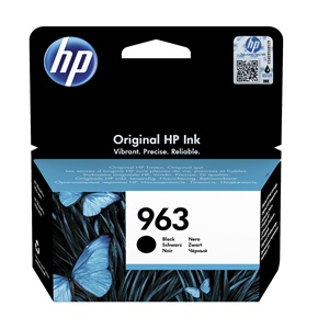Original HP 963 Black Inkjet Cartridge (3JA26AE)