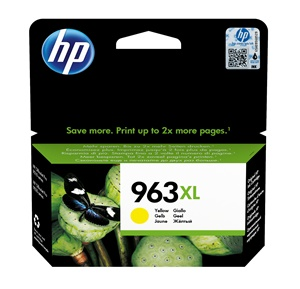 Original HP 963XL Yellow High Capacity Inkjet Cartridge (3JA29AE)