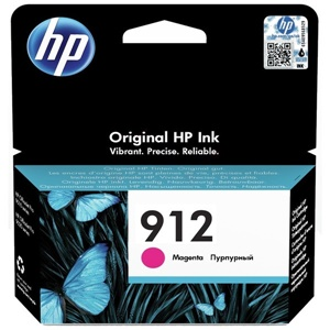 Original HP 912 Magenta Inkjet Cartridge (3YL78AE)