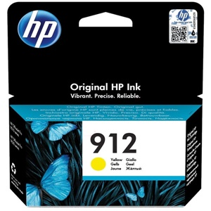 Original HP 912 Yellow Inkjet Cartridge (3YL79AE)