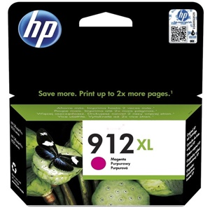 Original HP 912XL Magenta High Capacity Inkjet Cartridge (3YL82AE)