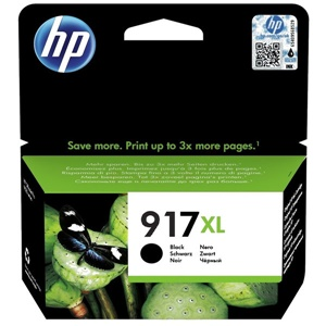 Original HP 917XL Black High Capacity Inkjet Cartridge (3YL85AE)
