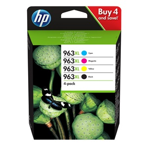 Original HP 963XL Four Colour Inkjet Cartridge Multipack (3YP35AE)