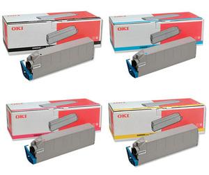 Oki Original 415152 Toner Cartridge Multipack (Black/Cyan/Magenta/Yellow)