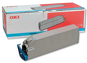 Original Oki 41515211 Cyan Toner Cartridge