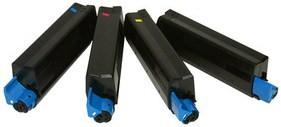 Compatible Oki 4196300 Set Of 4 Toner Cartridges (Black,Cyan,magenta,Yellow)