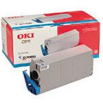 Original Oki 41963007 Cyan Toner Cartridge