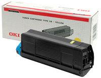 Original Oki 42127405 Yellow Toner Cartridge