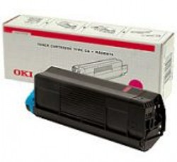 Original Oki 42127406 Magenta Toner Cartridge