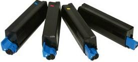 Compatible Oki 42127457 Set Of 4 Toner Cartridge (Black,Cyan,Magenta,Yellow)