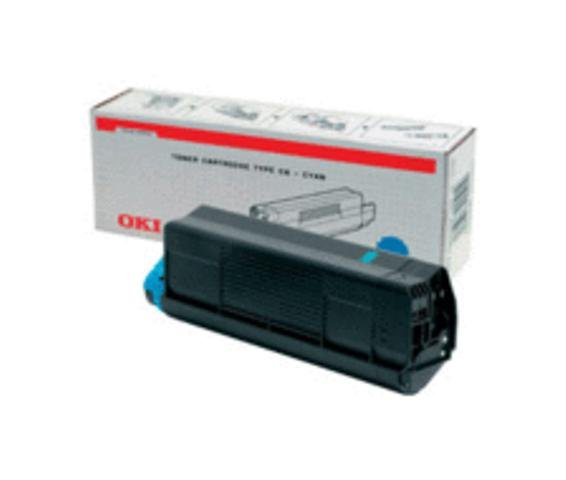 Original Oki 42127456 Cyan Toner Cartridge