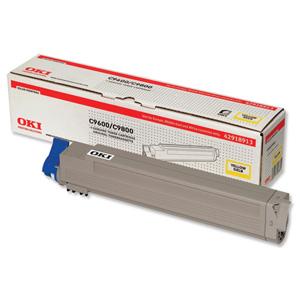 Original Oki 42918913 Yellow Toner Cartridge