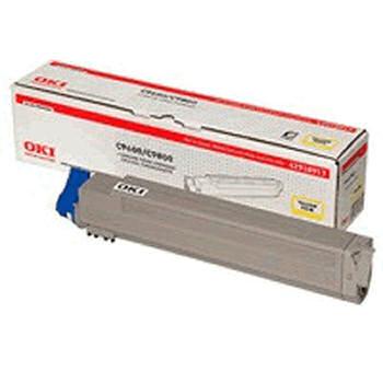 Original Oki 42918915 Cyan Toner Cartridge