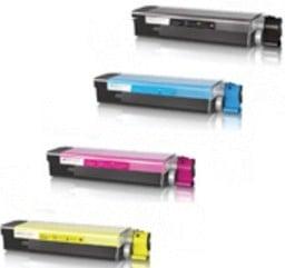 Oki 4332442 Compatible Toner Cartridge Multipack (43324424/3/2/1)