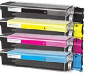 Compatible Oki 4338190 Set Of 4 Toner Cartridges (Black,Cyan,Magenta,Yellow)