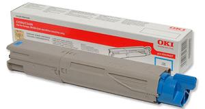 Original Oki 43459331 Cyan Toner Cartridge
