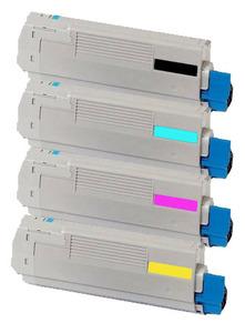 Oki Original 4497353 Toner Cartridge Multipack (Black/Cyan/Magenta/Yellow)