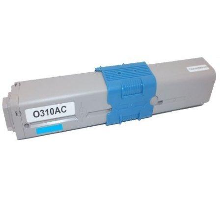 Oki 44973535 Cyan Compatible Cartridge