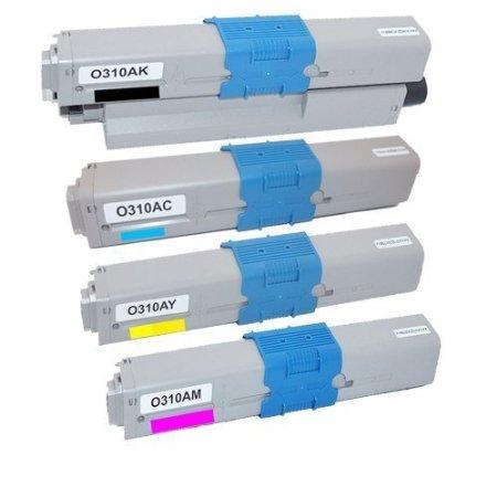 Oki 4497353 Compatible Toner Cartridge Multipack (44973536/5/4/3)