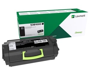 Original Lexmark 53B2000 Black Toner Cartridge