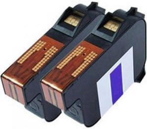 58.0033.3137.00 Compatible Blue Cartridges (set of 2) For Francotyp Postalia