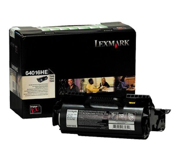 Original Lexmark 64016HE Black Toner Cartridge